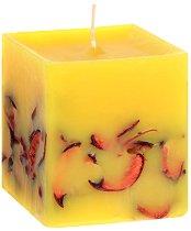 Ароматна свещ с етерично масло от иланг-иланг - четка