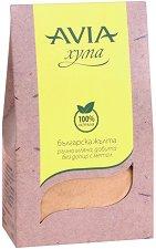 Българска жълта хума на прах - За суха коса и кожа - олио