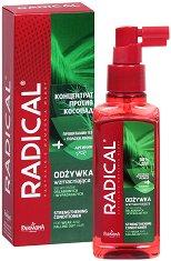 """Farmona Radical Strengthening Hair Conditioner - Балсам-концентрат за укрепване на увредена и склонна към косопад коса от серията """"Radical"""" - шампоан"""