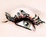 Paperself Birds Eyelashes - Декоративни мигли -