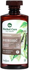 "Farmona Herbal Care Birch Tar Shampoo - Шампоан с катран от бреза против пърхот от серията ""Herbal Care"" - балсам"