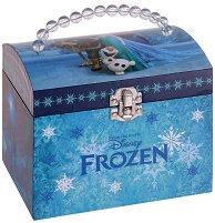 """Музикална кутия за бижута - Елза - От серията """"Замръзналото кралство"""" - творчески комплект"""