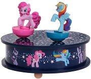 """Музикална въртележка - Детска играчка от серията """"Малкото пони"""" - играчка"""