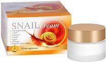 Snail Cream 24 Hours - Регенериращ крем за лице с екстракт от охлюви - гел