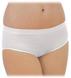 Бели безшевни бикини от органичен памук -