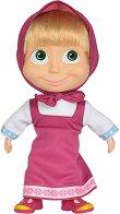"""Кукла Маша - Мека играчка от серията """"Маша и Мечка"""" -"""