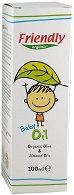 Friendly Organic Baby Oil - Бебешко олио за тяло с био масла от маслина и бадем -