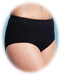 Черни стягащи безшевни бикини за след раждане -