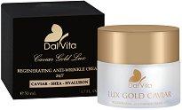 Dalvita Caviar Gold Lux Regenrating Anti-Wrinkle Cream 24/7 - Регенериращ крем за лице с хайвер и антиейдж ефект - балсам