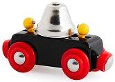 Вагон с камбанка - Детска дървена играчка - играчка