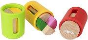 Фигурки за сортиране - Дървена образователна играчка - играчка