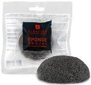 Erborian Konjac Sponge Charcoal - Конджак гъба за почистване на лице с пудра от бамбуков въглен -