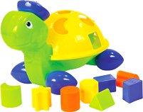 Костенурка - Образователна играчка за сортиране - играчка