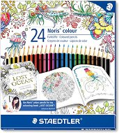 """Цветни моливи - Noris Colour 185 - Комплект от 24 цвята от серията """"#MyCreativeEscape"""""""