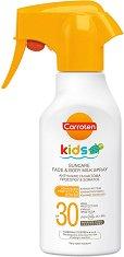 Carroten Kids Suncare Milk Spray - SPF 30 - Слънцезащитно мляко спрей за деца -
