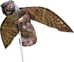 Водоустойчиво плашило - бухал - Против птици и гризачи