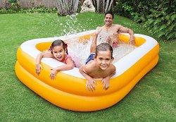 Надуваем басейн - Mandarin