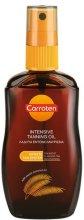 Carroten Intensive Tanning Oil - Олио за бързо придобиване на тен - шампоан