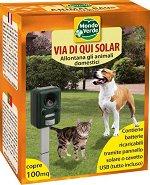 Ултразвуков апарат против кучета и котки - Със соларно захранване