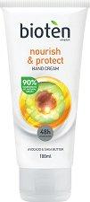 Bioten Nourish & Protect Hand Cream - Подхранващ крем за ръце за суха и чувствителна кожа - продукт