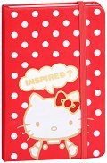Джобно тефтерче - Hello Kitty Red