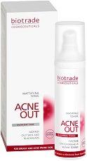 """Biotrade Acne Out Mattifying Tonic - Матиращ тоник за проблемна кожа от серията """"Acne Out"""" - крем"""