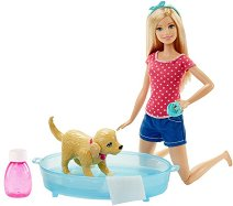 """Барби с куче - Кукла с аксесоари от серията """"Barbie"""" -"""
