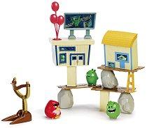 """Атака над прасетата - Играчка от серията """"Angry Birds"""" - играчка"""