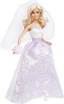 """Барби - Булка - Кукла от серията """"Barbie: Булка"""" - количка"""
