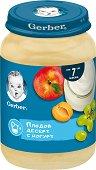 Nestle Gerber - Плодов десерт с йогурт - Бурканче от 190 g за бебета над 7 месеца -