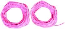 Розови плюшени шнурчета