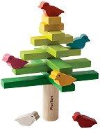 Дърво с птици - Детска играчка за баланс -