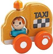 Такси - Дървена количка -