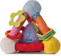 Активен триъгълник - Бебешка плюшена играчка -