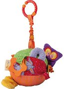 Активна топка - Плюшена бебешка играчка - творчески комплект