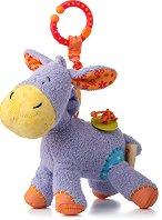 Магаренцето Лаки - Мека играчка за детска количка и легло -