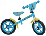 """Миньоните - Детски метален велосипед без педали 12"""""""