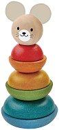 Мишле - Дървена играчка за нанизване -