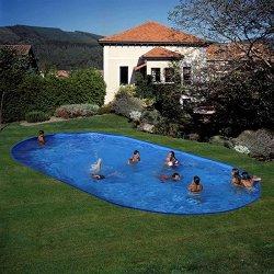 Овален басейн за вкопаване -