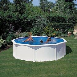Кръгъл сглобяем басейн - С твърда конструкция - продукт