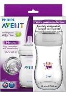 """Бебешки шишета за хранене - Natural: Chef 260 ml - Комплект от 2 броя от лимитираната серия """"Бъдещи таланти"""" -"""