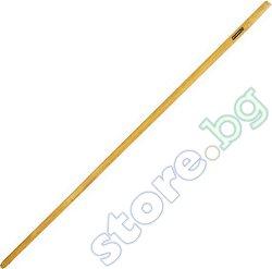Дървена дръжка за гребло с движещи се зъбци - ∅ 2.2 cm