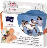 Пластири за рани - Family - Опаковка от 17 броя