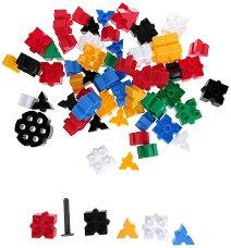 Детски конструктор - 185 части - играчка