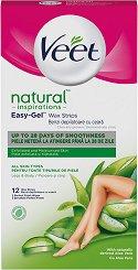 Veet Natural Inspirations Wax Strips -