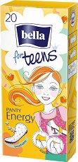 Bella for Teens Panty Energy Deo Fresh - Ежедневни дамски превръзки в опаковка от 20 броя - дамски превръзки