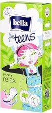 Bella for Teens Panty Relax Deo Fresh - Ежедневни дамски превръзки в опаковка от 20 броя - дамски превръзки