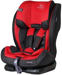 Детско столче за кола - Gravity: Red - За деца от 9 до 36 kg -