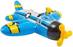 Надуваем самолет - Детска играчка с вграден воден пистолет -