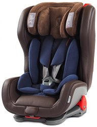 Детско столче за кола - Evolvair Royal: Brown Blue - За деца от 9 до 36 kg -
